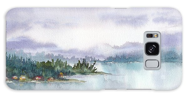 Ketchikan Alaska Inside Passage Shores Galaxy Case