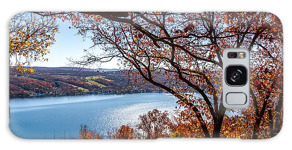 Keuka Lake Vista Galaxy Case by William Norton