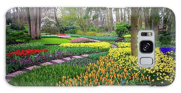 Keukehof Botanic Garden 2015 Galaxy Case