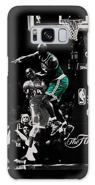 Larry Bird Galaxy S8 Case - Kevin Garnett Not In Here by Brian Reaves