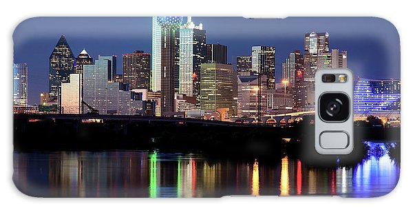 Kevin's Dallas Skyline Galaxy Case