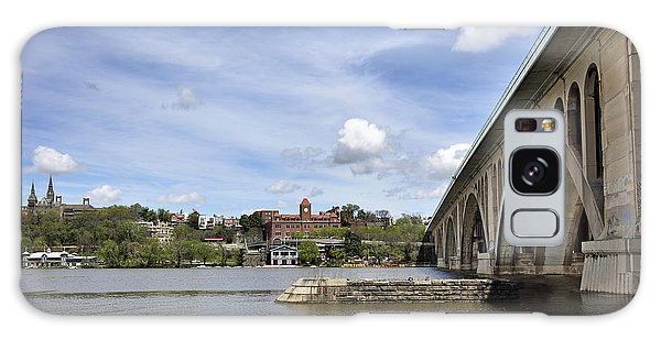 Key Bridge Into Georgetown Galaxy Case by Brendan Reals