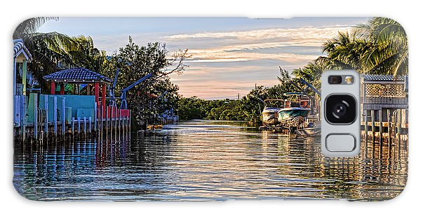 Key Largo Canal Galaxy Case