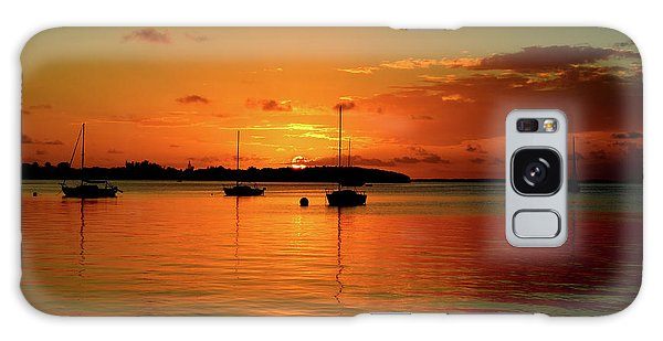 Key Largo Sunset Galaxy Case