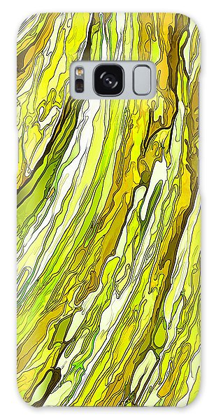 Key Lime Delight Galaxy Case