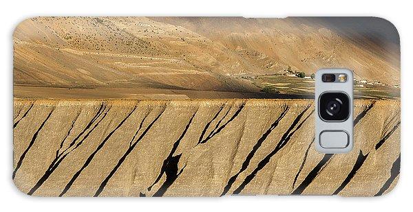 Galaxy Case featuring the photograph Key Monastery And Spiti Valley, Spiti, 2008 by Hitendra SINKAR