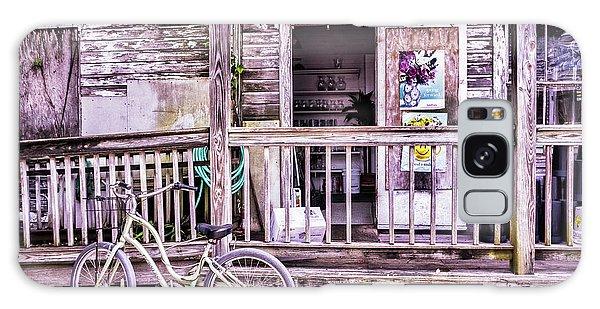 Key West Flower Shop Galaxy Case