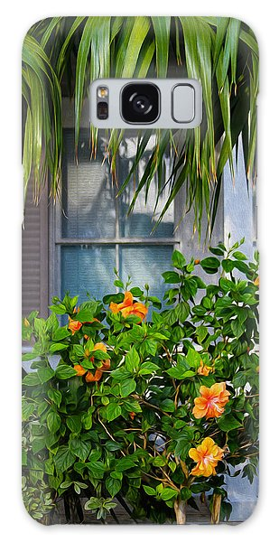 Key West Garden Galaxy Case