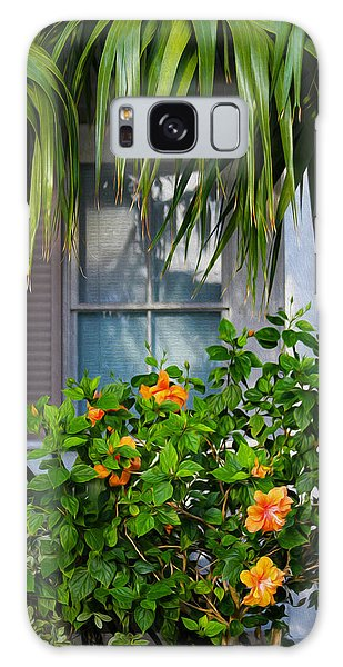Key West Garden Galaxy Case
