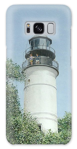 Key West Lighthouse Galaxy Case by Bob George
