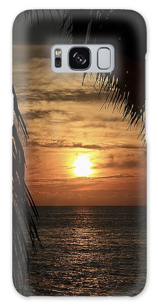 Key West Palm Sunset 2 Galaxy Case
