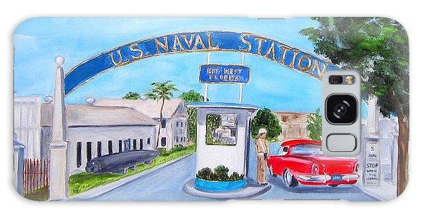 Key West U.s. Naval Station Galaxy Case
