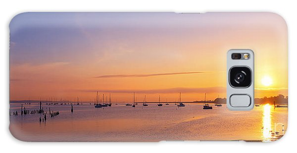 Keyport Harbor Sunrise  Galaxy Case