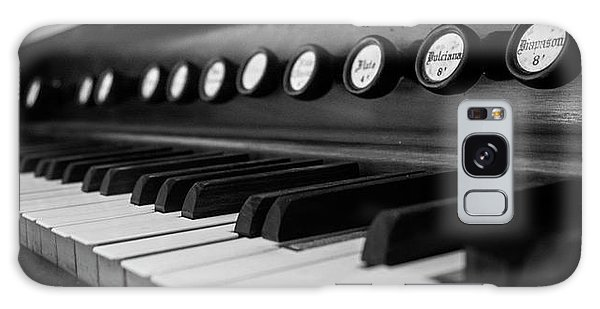 Keys And Knobs In Black And White Galaxy Case by Greg Mimbs