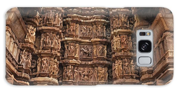 Khajuraho Temples 2 Galaxy Case