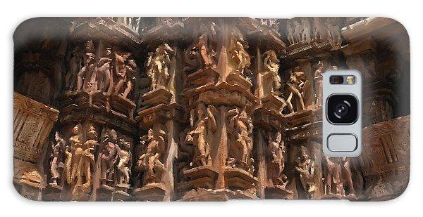 Khajuraho Temples 3 Galaxy Case