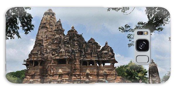 Khajuraho Temples 4 Galaxy Case