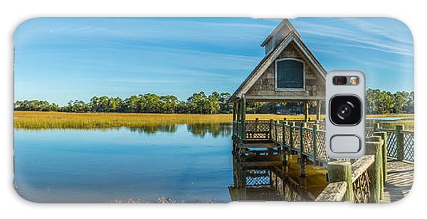 Kiawah Island Boathouse Panoramic Galaxy Case