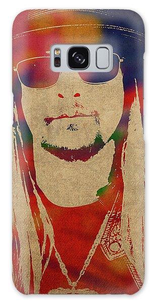 Motor City Galaxy Case - Kid Rock Watercolor Portrait by Design Turnpike