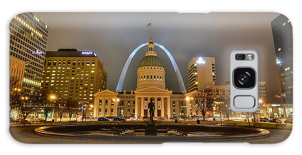 Kiener Plaza And The Gateway Arch Galaxy Case