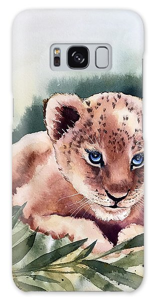 Kijani The Lion Cub Galaxy Case