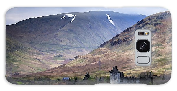 Kilchurn Castle On Loch Awe In Scotland Galaxy Case