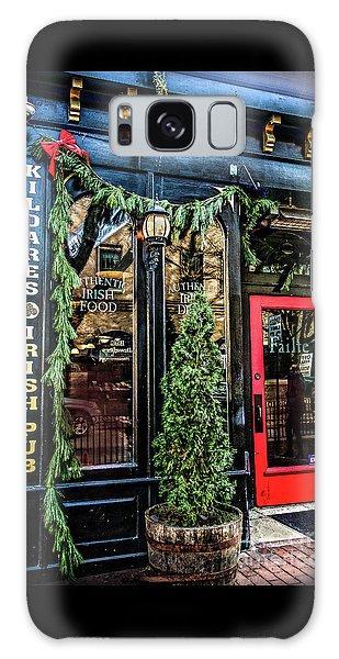 Kildares Irish Pub At Christmas Galaxy Case