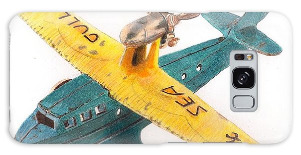 Kilgore Sea Gull Airplane Galaxy Case