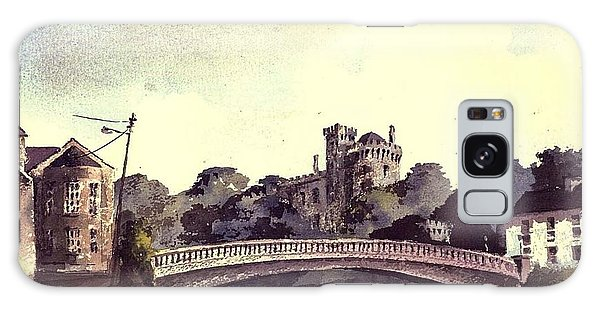 Kilkenny Castle On The Nore River. Galaxy Case
