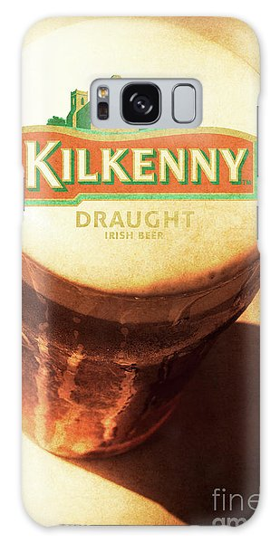 Cold Day Galaxy Case - Kilkenny Draught Irish Beer Rusty Tin Sign by Jorgo Photography - Wall Art Gallery