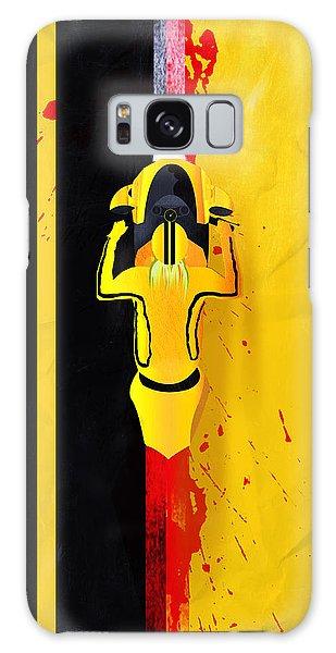 Kill Bill Minimalistic Alternative Movie Poster Galaxy Case