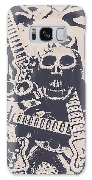 Punk Rock Galaxy Case - Kill The Music Industry by Jorgo Photography - Wall Art Gallery