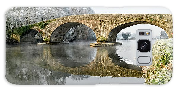 Kilsheelan Bridge In Winter  Galaxy Case