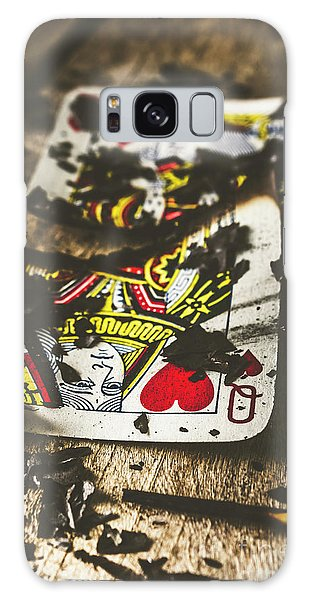 Gamble Galaxy Case - King And Queen Of Broken Hearts by Jorgo Photography - Wall Art Gallery