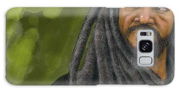 Galaxy Case featuring the digital art King Ezekiel by Antonio Romero