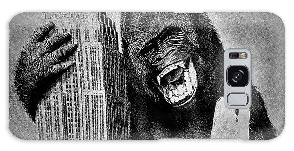 King Kong Selfie B W  Galaxy Case