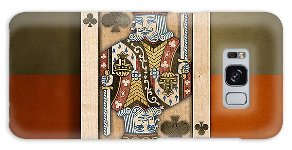 Gamble Galaxy Case - King Of Clubs In Wood by YoPedro