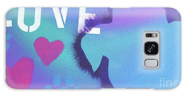 King Of My Heart Galaxy Case by Melissa Goodrich