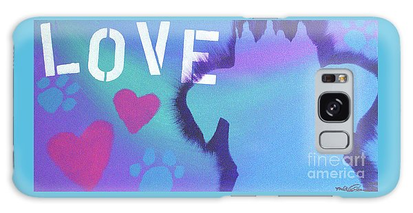 King Of My Heart Galaxy Case by Melissa Goodrich