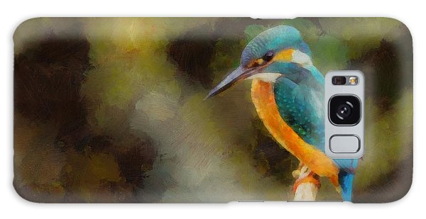 Kingfisher Galaxy S8 Case - King Of The Fishers By Pierre Blanchard by Pierre Blanchard