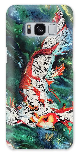 King Of The Pond Galaxy Case