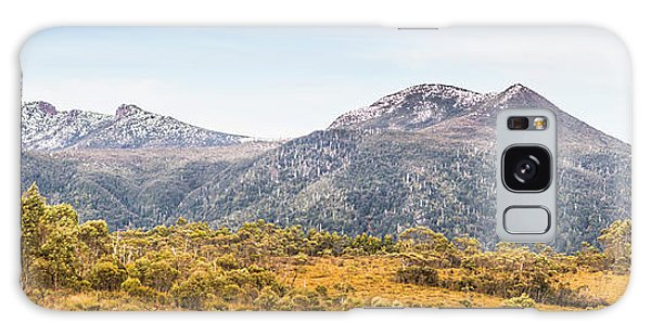 Kings Canyon Galaxy Case - King William Range. Australia Mountain Panorama by Jorgo Photography - Wall Art Gallery