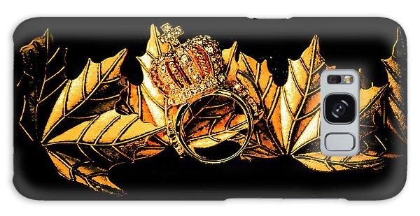 Metal Leaf Galaxy Case - Kingdom In Fall by Jorgo Photography - Wall Art Gallery