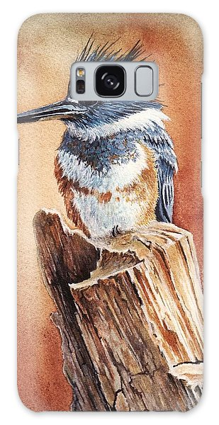 Kingfisher I Galaxy Case