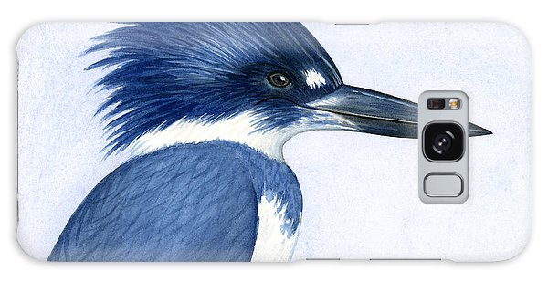 Kingfisher Portrait Galaxy Case