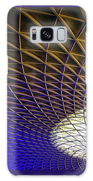 Galaxy Case featuring the photograph Kings Cross Railway Station Roof by Matthias Hauser