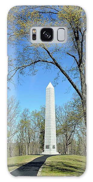 Kings Mountain National Military Park Monument Galaxy Case by Bruce Gourley