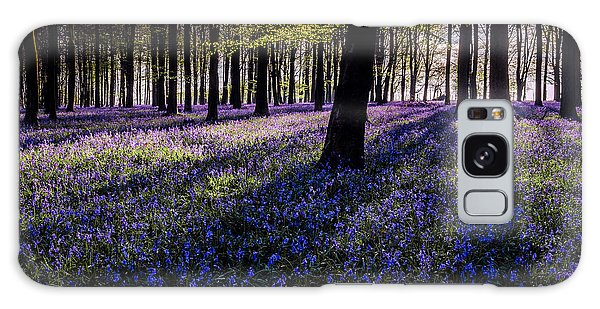 Bluebell Galaxy Case - Kings Wood Bluebells by Ian Hufton