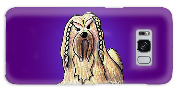 Kiniart Lhasa Apso Braided Galaxy Case