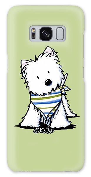 Kiniart Westie Terrier Galaxy Case